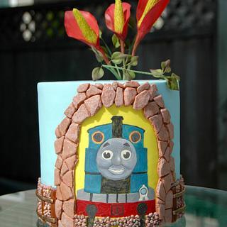 Thomas Cake - Cake by Leyda Vakarelov