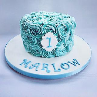 Smash Cake for a boy