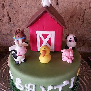 Cute farm - Cake by Norma Vennesland