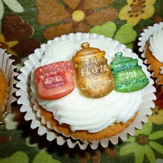 Baking Cupcake - Cake by Cherie Permalino