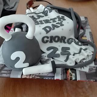 personal trainer cake