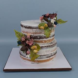 Naked Cake - Cake by Prima Cakes and Cookies - Jennifer