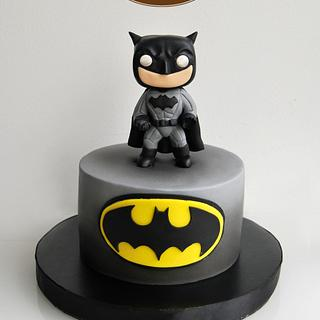 funko pop batman simple cake