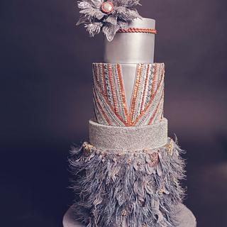 ACD Fall into fashion cake