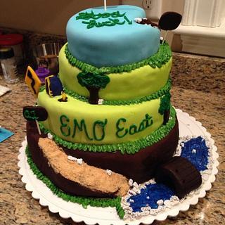 Sales Mountain Cake