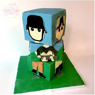 Rotating Army Cake - Cake by Sabrina - White's Custom Cakes