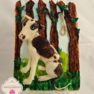 Mi Galgo !!! - Cake by Cholys Guillen Requena