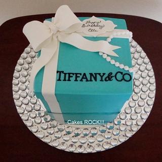 Tiffany Box Cake - Cake by Cakes ROCK!!!