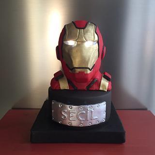 Ironman - Cake by Pinar Aran