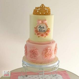 Bolo 1Ano - 1st Anniversary Cake - Cake by Unique Cake's Boutique