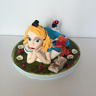 """"""" Alice"""" Cake Topper"""