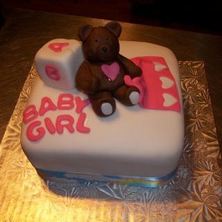 Baby shower cake - Cake by Tara MacLean