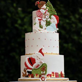 Pretty Witty Cakes Xmas Cake winner