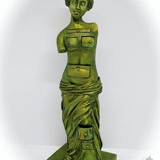 Venus de Milo with drawers - Salvador Dali in sugar collaboration