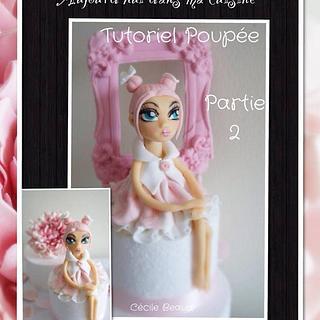 Tutoriel poupée : partie 2 : suite et fin :) - Cake by Cécile Beaud