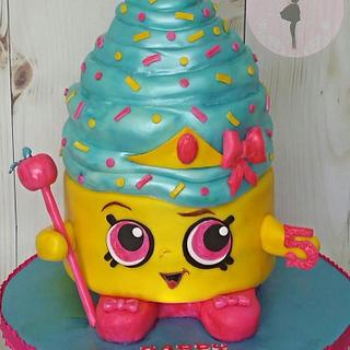 Shopkins Theme Cupcake Queen