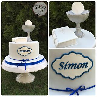 Communion cake - Cake by Baking Isi
