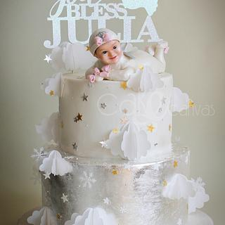 Starry Starry cake for little baby Julia