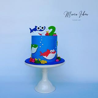 Baby Shark - Cake by Maira Liboa