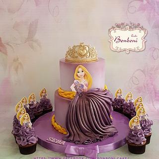 Rapunzel  - Cake by mona ghobara/Bonboni Cake