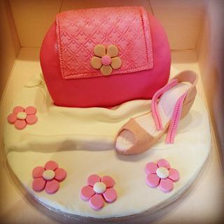Shoe and bag cake - Cake by Big Cake Adventure