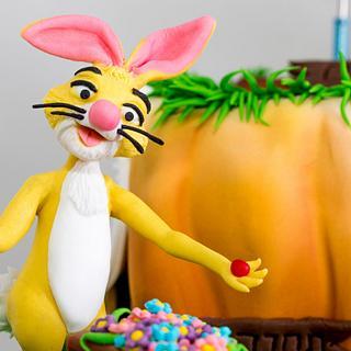 winnie the pooh minigolf cake