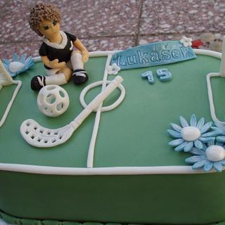 florbal - Cake by Táji Cakes