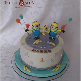 Minion cake - Cake by Tortolandia