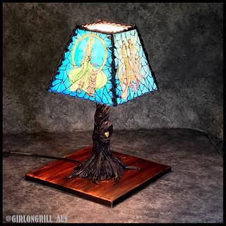 'Buffy' Tiffany Lamp