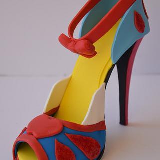 Snow White sugar shoe