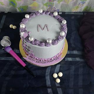 buttercraem cake - Cake by Shery Sweet