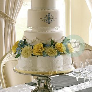 Wedding Cake Celess  - Cake by  Marieke