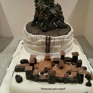 Winter is coming.... - Cake by Pattiecake