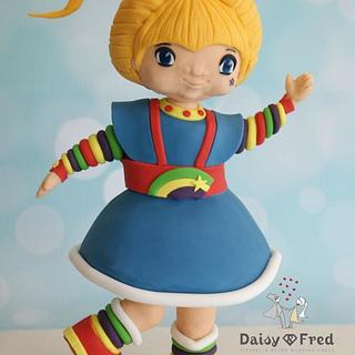 Rainbow Brite - Cake by Daisy & Fred