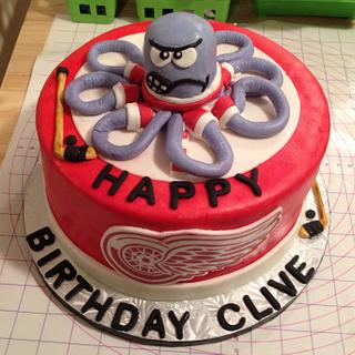 Detroit Redwings Cake