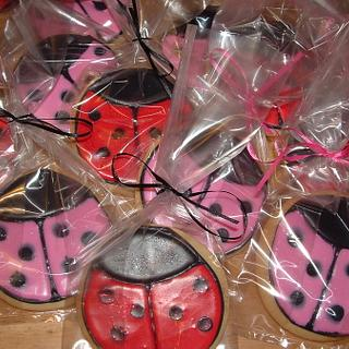 Lady Bug Cookies