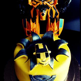 Transformers cake - Bumblebee