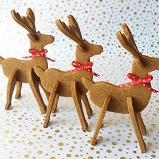 Reindeer ginger - Cake by Carol Araya