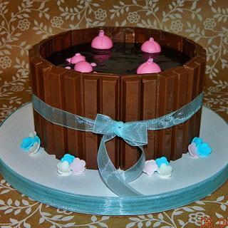 Pigpen Cake
