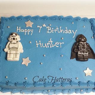 Star Wars Birthday Cake - Cake by Donna Tokazowski- Cake Hatteras, Hatteras N.C.