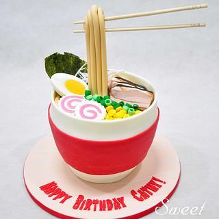 Ramen Cake - Cake by Sweet Success