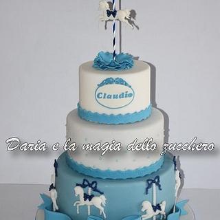 Carousel horses cake - Cake by Daria Albanese