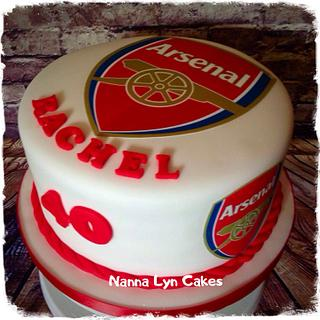 Arsenal Fans cake