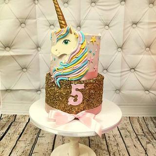 Unicorn - Cake by Princess Andjela