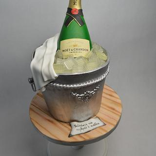 Bucket for champagne