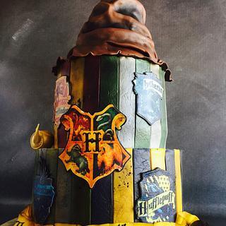 Hogwarts Birthday Cake - Cake by Una's Cake Studio