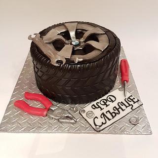Auto Mechanic cake