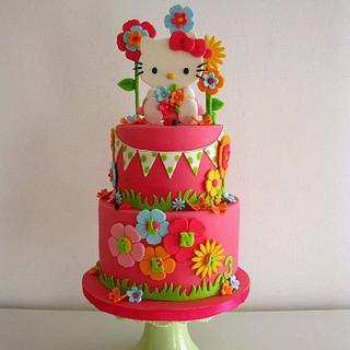 Bright and happy - Cake by Daantje