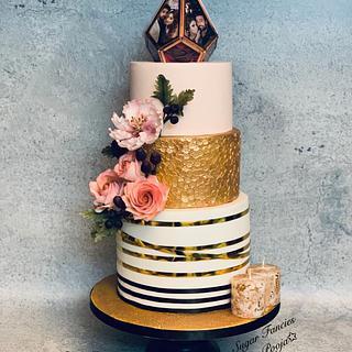 Floral Fantasy  - Cake by SugarfanciesbyPooja