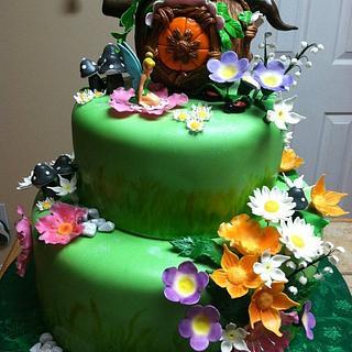 Tinker Bell birthday cake - Cake by Tetyana